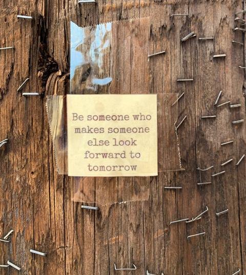 Telephone Pole Wisdom