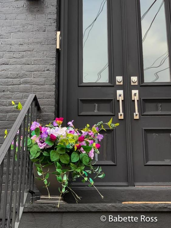 Flower Pot and Door Handles