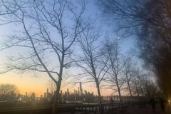 Sunrise & Moonset