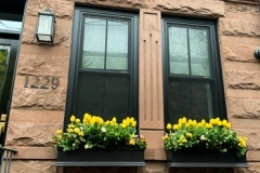 Twin Flower Boxes