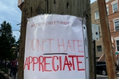 Telephone Pole Signs