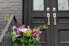 Flower Pot and Door Handles