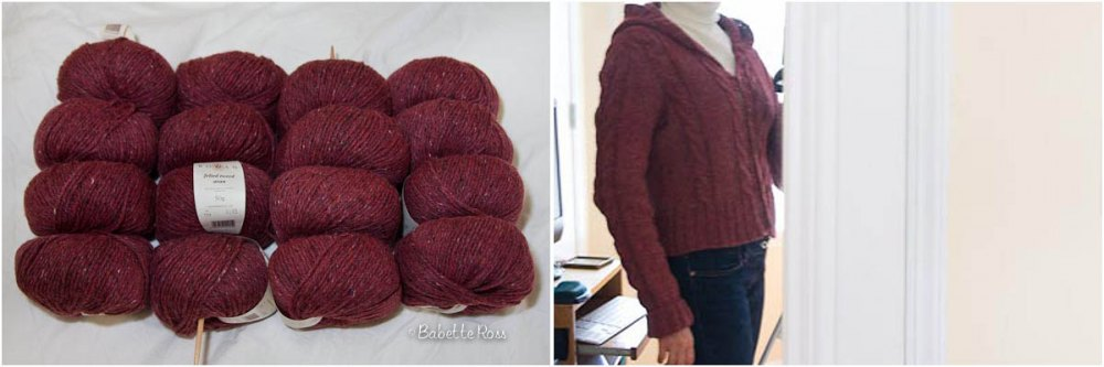 """<a href=""""http://www.ravelry.com/projects/babetter/central-park-hoodie"""">Hoodie</a>"""