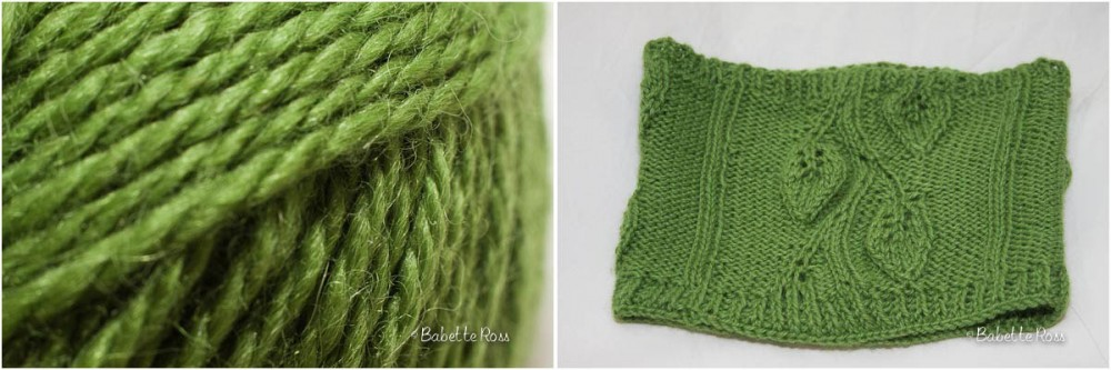 """<a href=""""http://www.ravelry.com/projects/babetter/tuscan-leaves-cowl"""">Cowl</a>"""