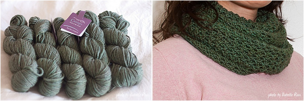 """<a href=""""http://www.ravelry.com/projects/babetter/5th-avenue-infinity-scarf"""">Fifth Avenue Infinity Scarf</a>"""