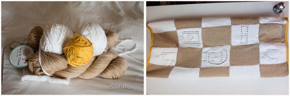 """<a href=""""""""http://www.ravelry.com/projects/babetter/babys-first-tour-blanket"""">Baby's First Tour Blanket</a>"""