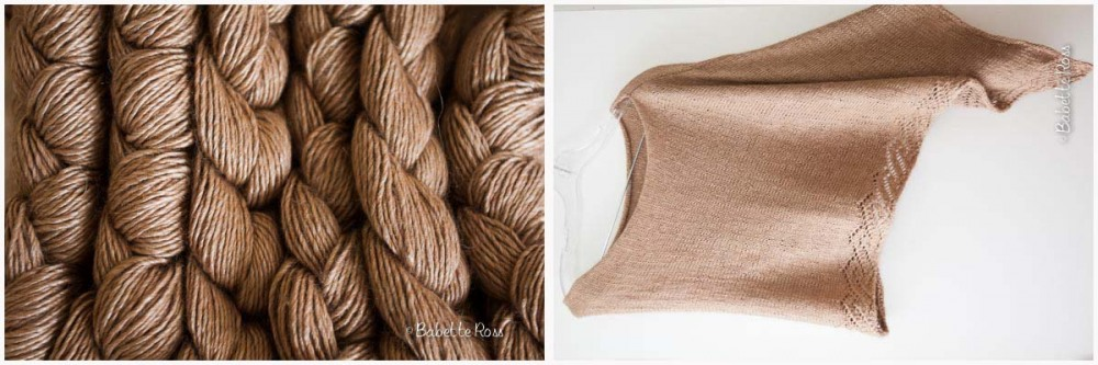 """<a href="""":http://www.ravelry.com/projects/babetter/etched-rio-wrap"""""""">Etched Rio Wrap</a>"""