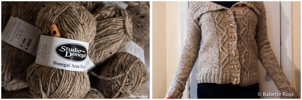 """<a href=""""""""http://www.ravelry.com/projects/babetter/travellers-end"""""""">Travellers End Sweater</a>"""