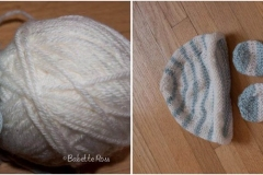 Baby Hat Mitt & Booties (this project was not on my Ravelry)