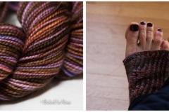 "<a href=""http://www.ravelry.com/projects/babetter/nearly-socks"">Toeless Pedicure Socks</a>"