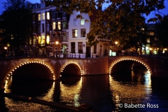 Amsterdam Blurry at Night