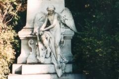 Mozart's Grave, Zentralfriedhof, Vienna 1996-10-04