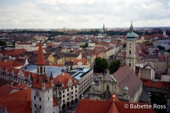 Munich from Alter Peter 1994-08-27
