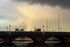 Queen's Bridge Rainbow