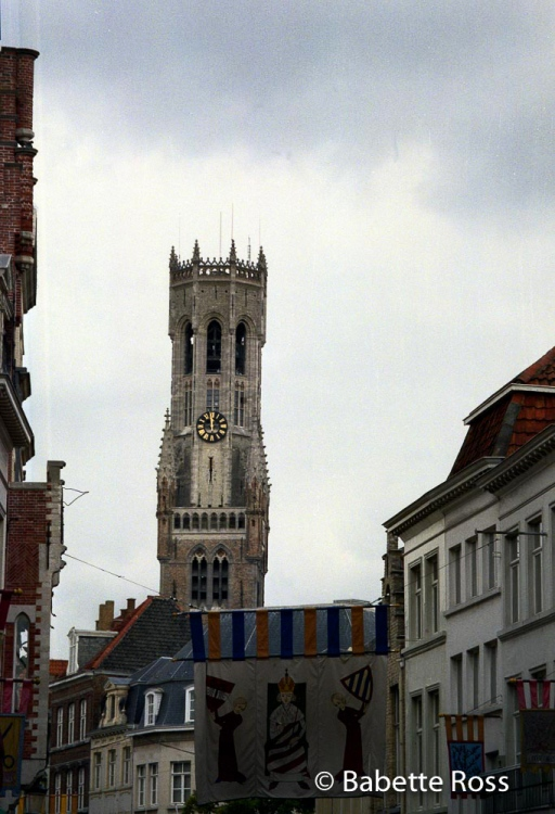 Belfry in Brugge 1995-08-29
