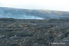 Volcanos National Park Lava Field