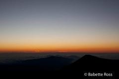 Mauna Kea, Sunset