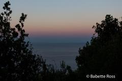 Sunrise, Between Vernazza & Corniglia 2015-09-07