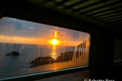 Sunset from the Train 2015-09-08