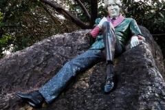 Merrion Sq Oscar Wilde Statue 2013-12-30