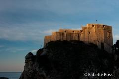 Fort Lovrjenac, Dubrovnik 2013-03-17