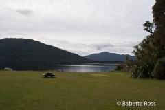 Between Bruce Bay & Haast - Lake Paringa