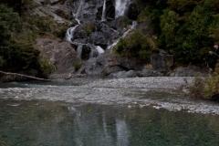 Haast Pass - Fin Tail Falls