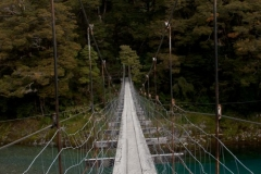 Haast Pass Swinging Bridge