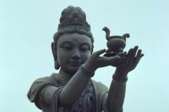 Lantau Island, Po Lin Monastery, Big Buddha Offerings 1999-09-29