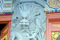 Lantau Island, Po Lin Monastery, Temple 1999-09-29