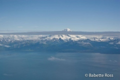 Flying from Anchorage to King Salmon