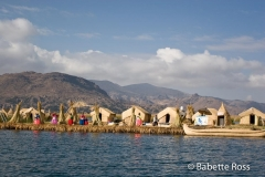 Uros on Lake Titicaca