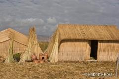 Uros Totora Reed Huts