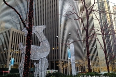 Avenue of the Americas at 48th Christmas Decor