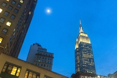 Empire State Building and The Moon