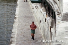 Jogger along The Seine 1995-08-30_10