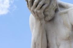 Tuileries Garden Statue 2009-07-09
