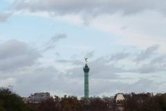 Place de la Bastille from Pont d'Austerlitz 2015-11-13