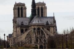 Notre Dame from Pont de l'Archevêché 2015-11-13