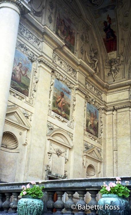 Wallenstein Palace, Prague 1996-09-27