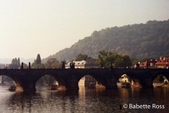 Prague, St Charles Bridge from Masesav Most 1996-09-27