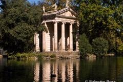 Temple of Aesculapius, Villa Borghese 2010-10-07