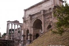 Forum, Arch of Septimius Severus 2010-10-09