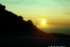 Old Film Scan - Mt. Tam Sunset