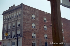 Building with Old Advertising
