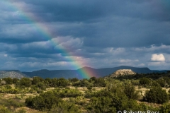 Rainbow between Sedona & Phoenix