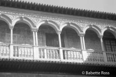 Alcazar, Balcony