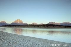 Sunrise Jackson Lake