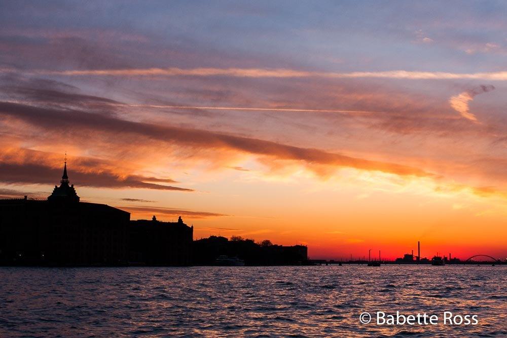 Giudecca Canal Sunset