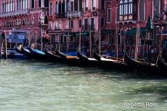 Line of Gondolas